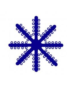Radio-opaque Dark Blue Separating Stars 960ud.