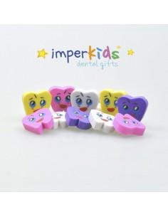 Erasers molar