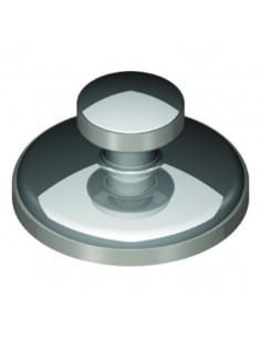 Botón mini cementado directo - Plano (10 unidades)